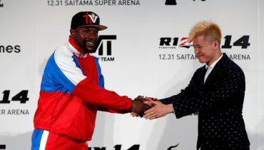 Мэйуэзер получит 90 млн евро за первый бой в MMA