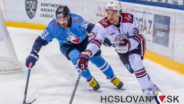 Рижское «Динамо» прервало безвыигрышную серию в Братиславе