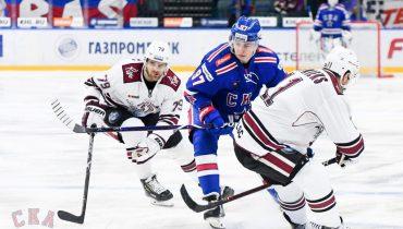 СКА на своём льду упустил победу над рижским «Динамо». Виделль трижды огорчил петербуржцев