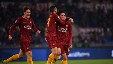 «Рома» ушла от поражения в игре с «Интером» благодаря пенальти