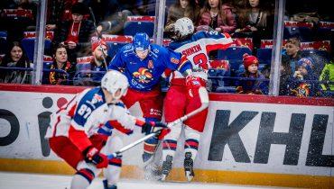 ЦСКА уступил во второй встрече подряд, не справившись с «Йокеритом»