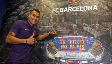 Мурильо на полгода переезжает из Валенсии в Барселону