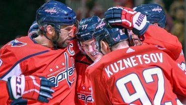 Очередной хет-трик Овечкина принёс «Вашигтону» третью подряд победу в НХЛ