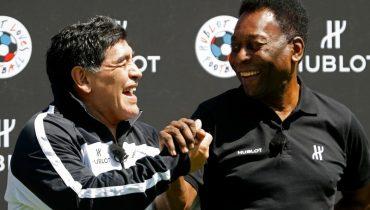 Пеле: «Марадона или Месси? Марадона, он намного лучше»