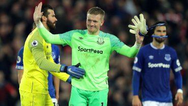 Дикая ошибка Пикфорда на 96-й минуте решила судьбу дерби Ливерпуля. FIFA 19 в реальной жизни