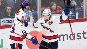 СКА победил «Йокерит» в Хельсинки, выиграв пятый матч подряд в КХЛ