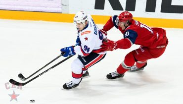 СКА победой над «Локомотивом» в Ярославле обеспечил участие в Кубке Гагарина