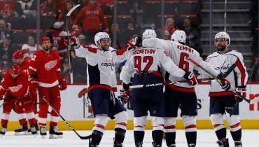 «Вашингтон» прервал неудачную серию в НХЛ победой над «Детройтом»