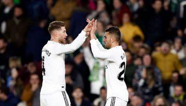«Реал» вырвал победу над «Бетисом» и вышел на четвёртое место в Ла Лиге