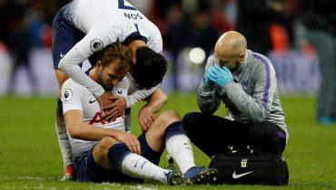 Кейн получил травму в игре с «МЮ» и рискует пропустить матч с «Боруссией» в Лиге чемпионов