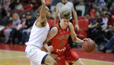 «Локомотив-Кубань» пропустил всего 41 очко в матче Единой лиги ВТБ