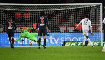 «Генгам» реализовал два пенальти из трёх и остановил «ПСЖ» в 1/4 финала Кубка французской лиги