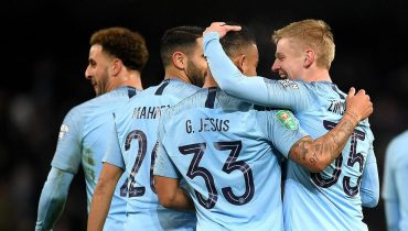 Покер Жезуса и чудо-гол Зинченко помогли «Манчестер Сити» стереть в пыль «Бёртон»
