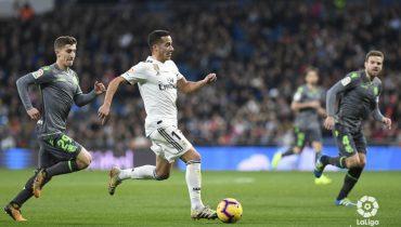«Реал» в меньшинстве уступил на своём поле одноклубникам из Сосьедада