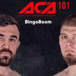 Конкурс БК «Бинго-Бум»: фрибет до 5 000 рублей за прогноз на турнир ACA 101