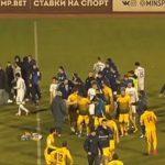 Клубы ПФЛ устроили махач сразу после матча в Астрахани